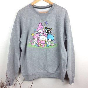 Sanrio Crewneck Graphic Sweatshirt